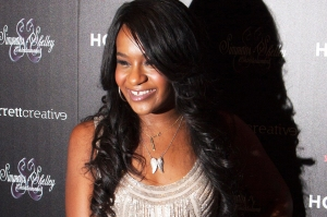 """Bobbi Kristina Brown attends the opening night of """"The Houstons: On Our Own"""" in New York, in this file photo taken October 22, 2012. Bobbi Kristina Brown, daughter of singer Bobby Brown and his late wife, Whitney Houston, is fighting for her life and is surrounded by immediate family, the Houston family said in a statement on February 2, 2015.   REUTERS/Andrew Kelly/Files   (UNITED STATES - Tags: ENTERTAINMENT HEALTH)"""
